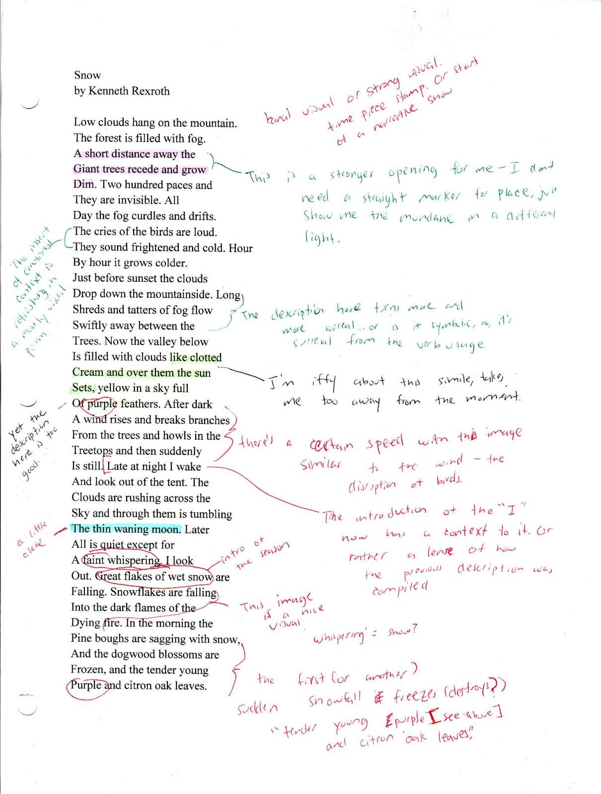 broken goals composition examination essay
