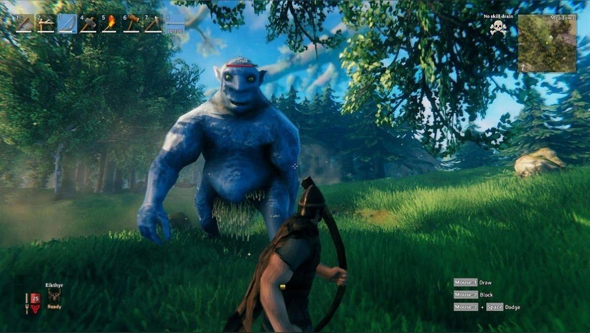 How to kill a troll in battle
