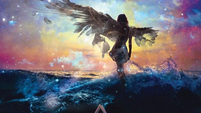 Papel de Parede Anjo no Mar