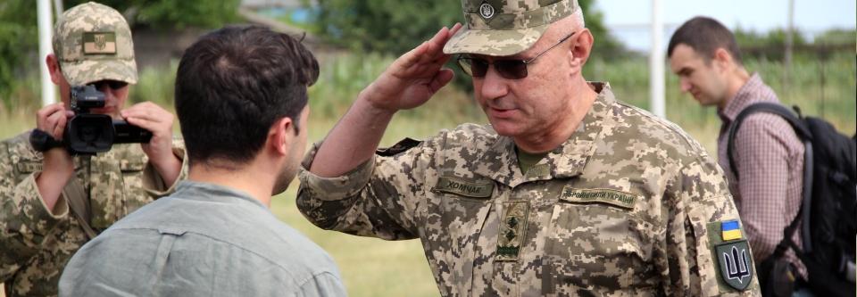 Хомчака призначено відповідальним за створення оновленої системи територіальної оборони