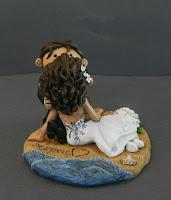 statuine nozze sposini carini romantici abito personalizzato orme magiche