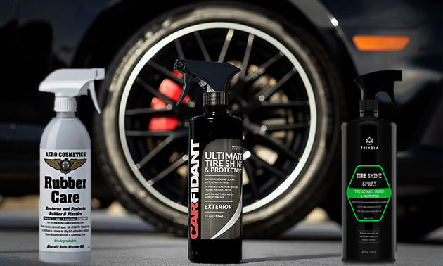 The best tire polishing products 2020