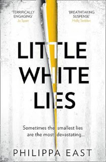 Book cover of Little White Lies by Philippa East