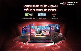 ASUS ROG công bố loạt laptop gaming mới trang bịCPU Intel Core thế hệ 9 cùng đồ họa GTX 16-Series