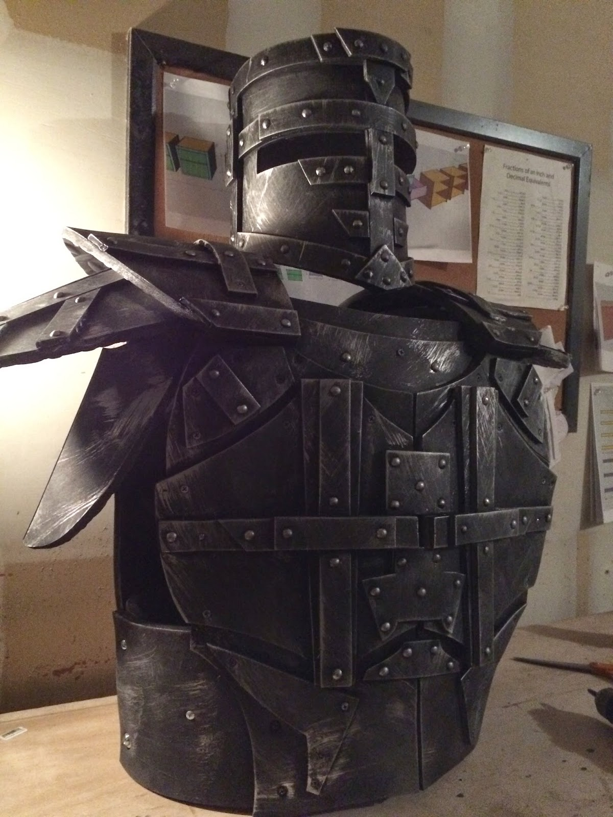 Timbo S Creations Foam Knight Helmet Amp Body Armor Test