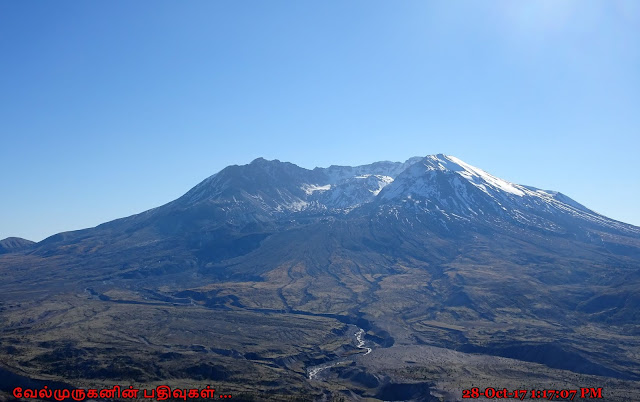 Mount St. Helens After Eruption