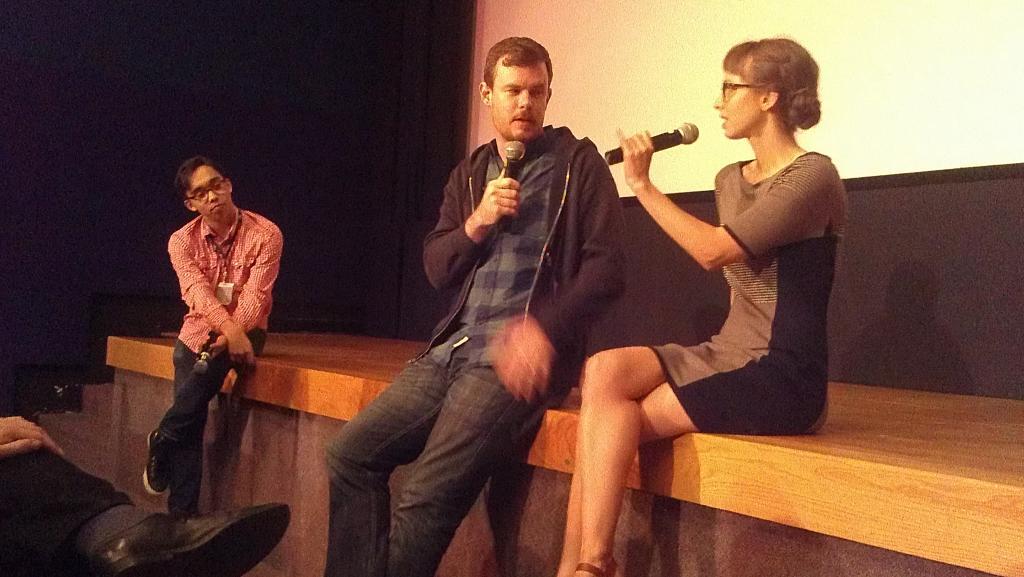 """""""24 Exposures"""" director Joe Swanberg & co-star Helen Rogers"""
