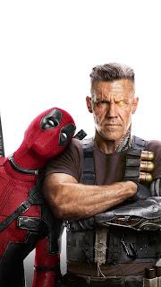 Deadpool & Cable Mobile HD Wallpaper
