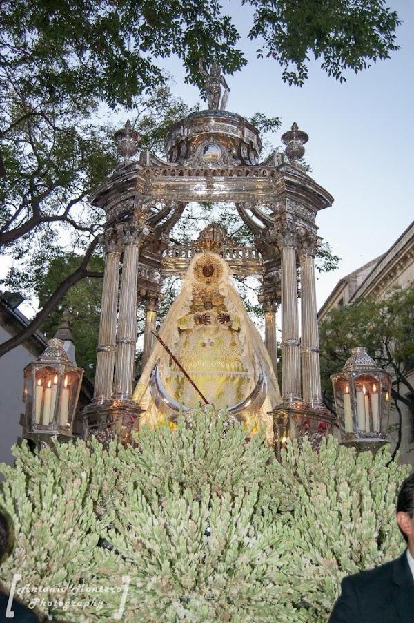 Horario e Itinerario Procesión Nuestra Señora de los Milagros. El Puerto de Santa María 08 de Septiembre del 2019