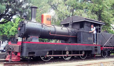 Kereta Api Peninggalan Belanda