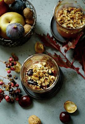 recette facile , cuisine équilibrée , poires , figues