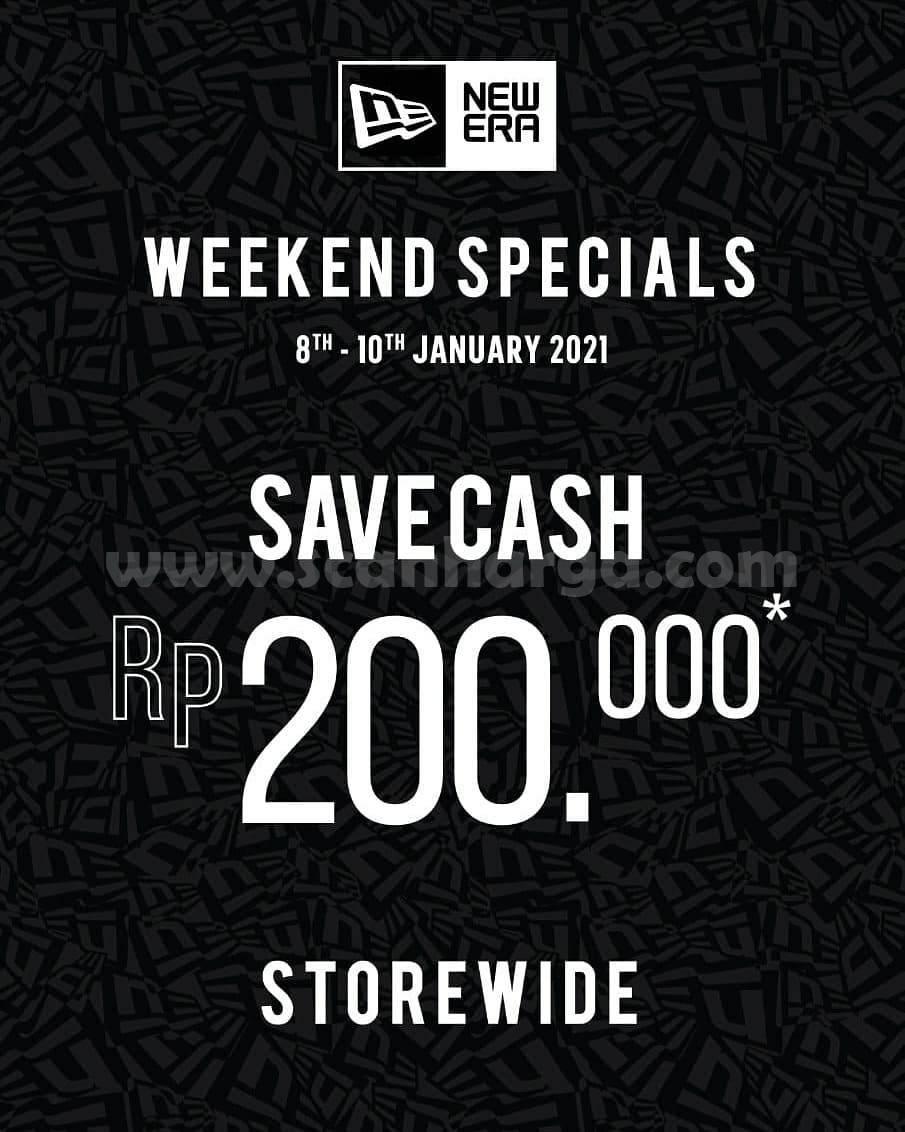 Promo New Era Cap Weekend Specials Save Cash Rp 200.000 Storewide