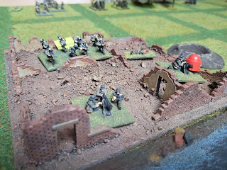 Germans in Ors survive the British barrage