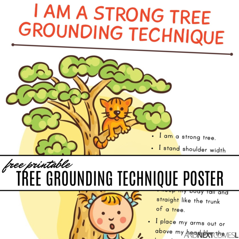 picture about Printable Tree named Free of charge Printable Tree Grounding Course of action for Youngsters And Up coming
