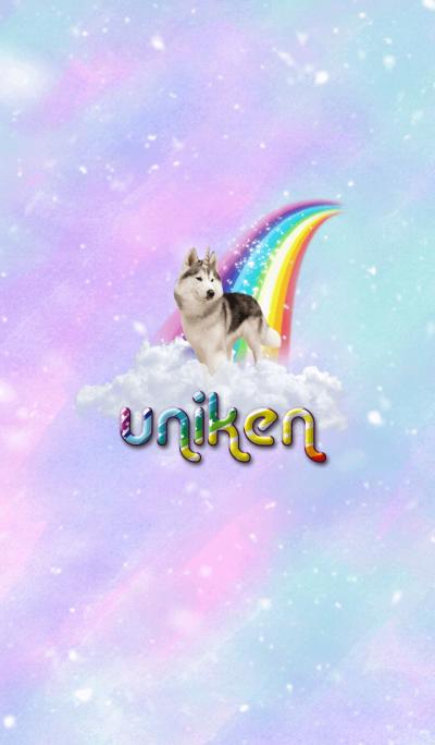 Uniken Husky Dog