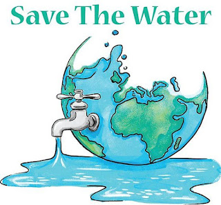 how to save water drawing
