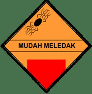 Simbol Mudah Meledak