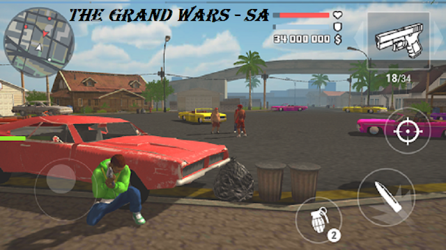 Download The Grand Wars San Andreas Mod Apk Game