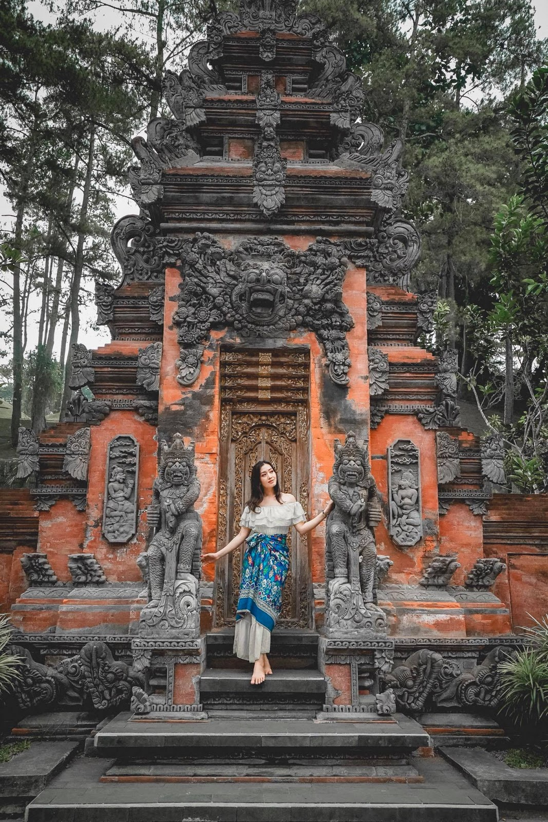 Yu Thandar Tin in Bali Beautiful Pictures