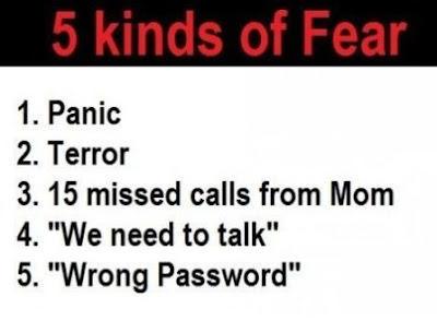 Types of Fear