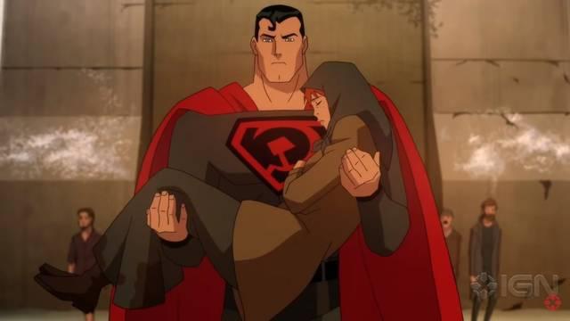 Superman: Red Son estrena tráiler de su pelicula de animación