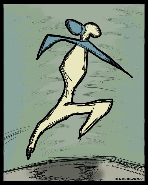 dancing dance dancer art artwork figurative drawing