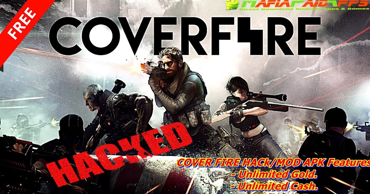 Cover Fire: shooting games Apk + Mod (Unlimited Money/Gold/Energy) +