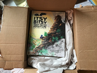 Box of Itsy Bitsy Teddy Bear's Adventure books