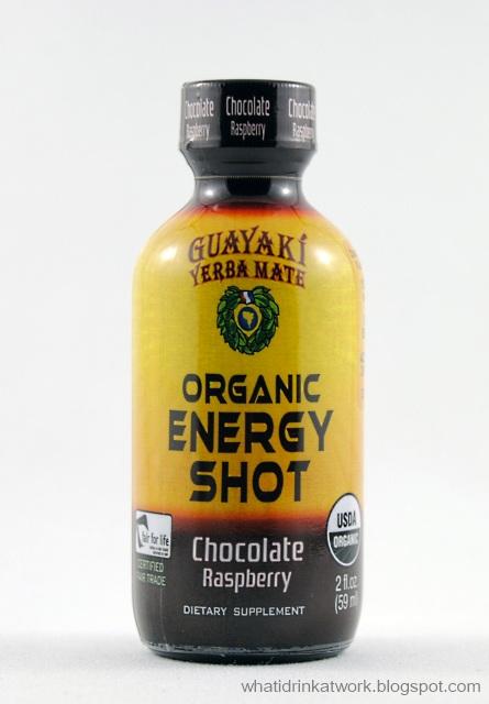 What I Drink At Work: Guayaki Yerba Mate Organic Energy Shot