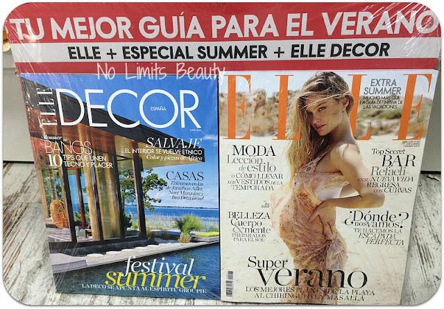 Regalos Revistas Junio 2016 - Elle