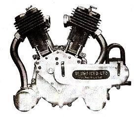 mesin berbentuk V