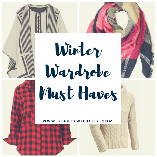 Winter Wardrobe Essentials | Winter clothing must haves -- beautywithlily.com