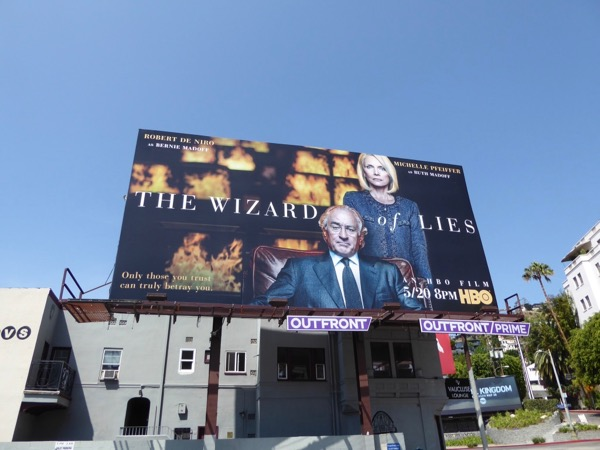 Wizard of Lies HBO film billboard