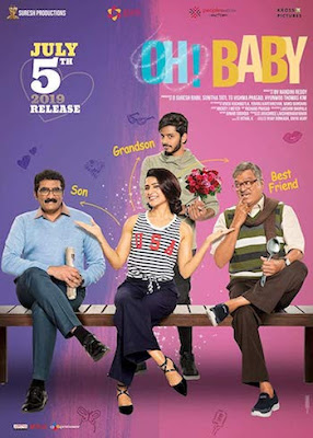 Oh! Baby 2019 Telugu 720p HDRip 1.2GB ESubs