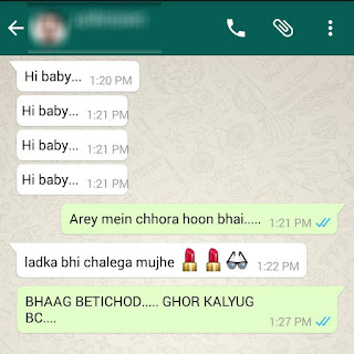 funny whatsapp conversation