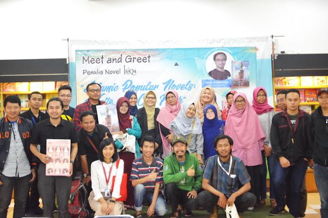 Meet and Greet Laiqa Penerbit Elex Media Komputindo