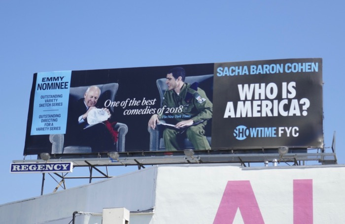 Who Is America Emmy nominee Dick Cheney billboard