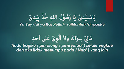 Lirik Sholawat Ya Sayyidi Ya Rasulallah Lengkap Latin Indonesia Arab