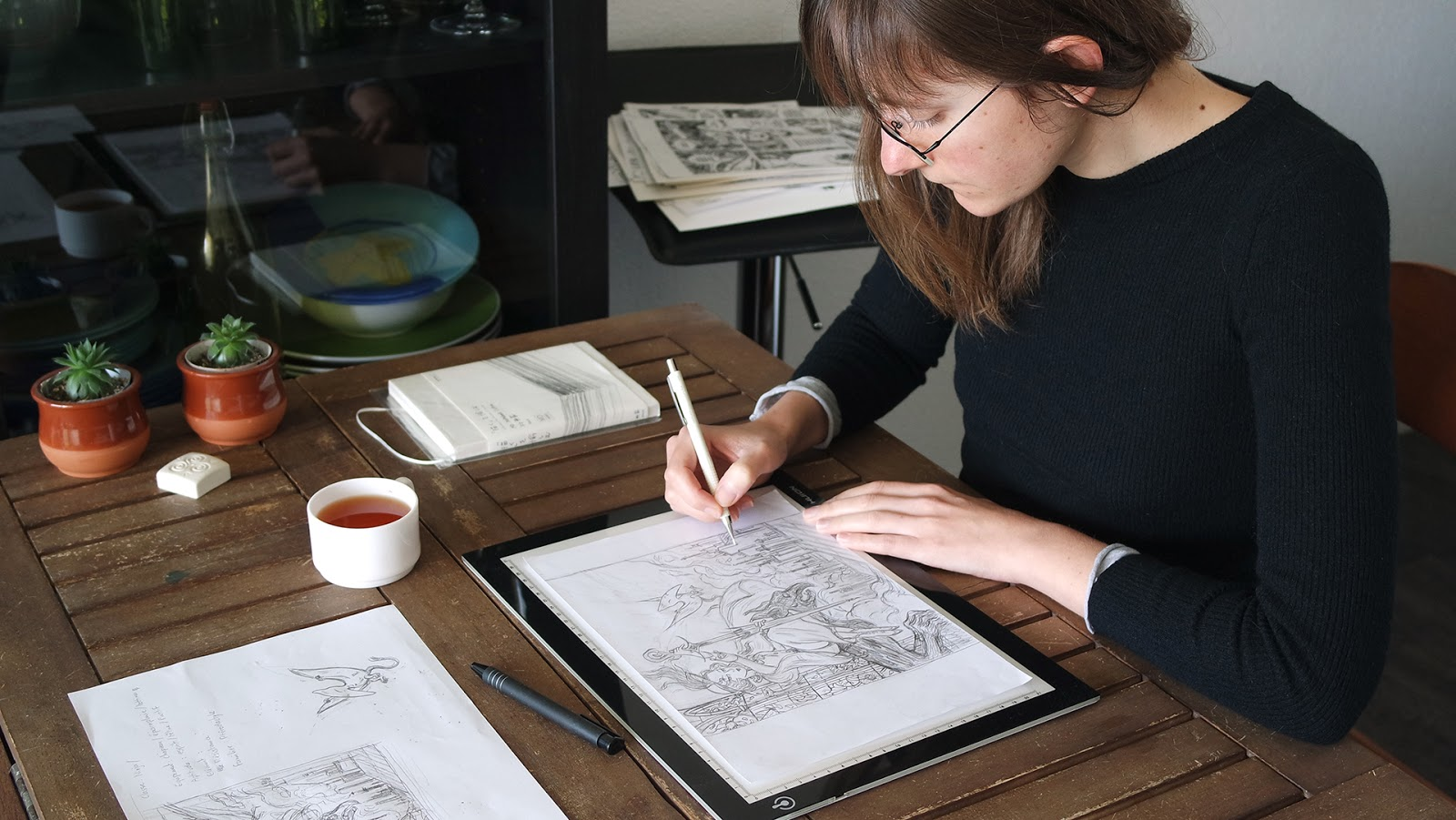 Atelier Sento's table