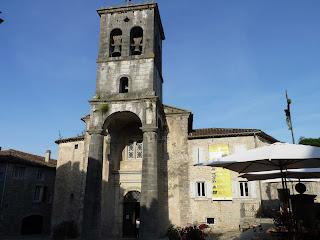 Iglesia de Labeaume.
