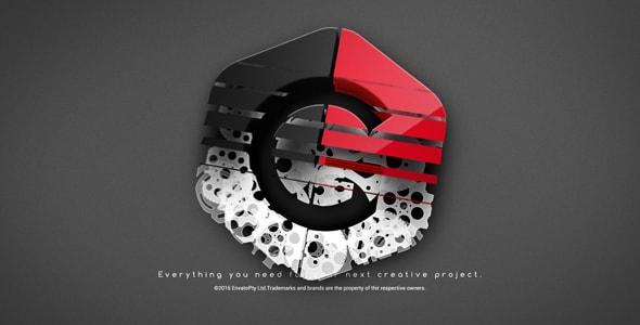 قالب افتر افكت مجاني - عرض هوية او شعار شركة بشكل جذاب للافتر افكت CS4 فأعلى