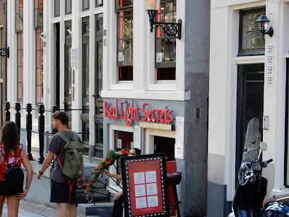 アムステルダムのRed light district