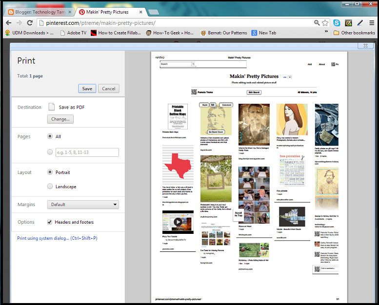 In links how pdf chrome to