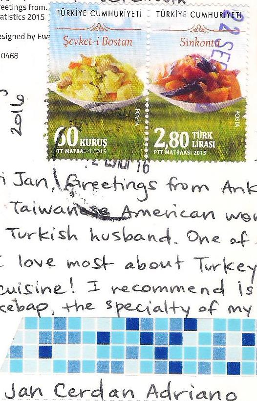 More postcards stamps greetings from turkey thank you so much helen for sharing this with me m4hsunfo