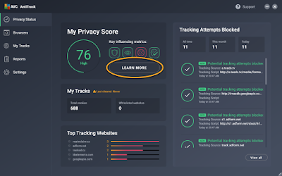 AVG Anti Track Reviews 2021 Download
