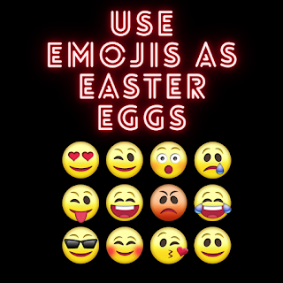 Best caption For Instagram | Use Emojis as Easter Eggs
