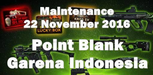 Informasi Maintenance Point Blank 22 - 29 November 2016 / Update Seri Alien