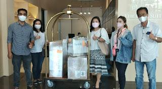 Pemkab Karo Terima Bantuan Ventilator dari Kementerian BUMN