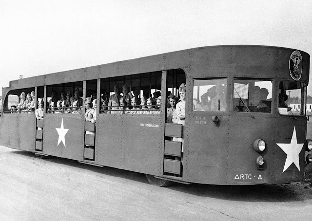 Formerly a New York World's fair excursion bus, the