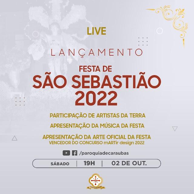 Paróquia de São Sebastião fará lançamento oficial da tradicional festa de padroeiro em Caraúbas